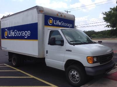 Truck rental available at Life Storage at 20202 Blanco Rd in San Antonio
