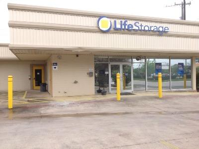 Storage buildings at Life Storage at 2300 Broadway St in San Antonio