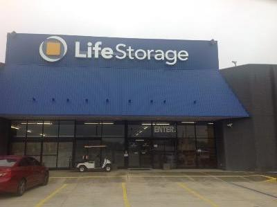 Storage buildings at Life Storage at 2650 East South Boulevard in Montgomery