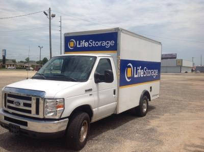 Truck rental available at Life Storage at 2650 East South Boulevard in Montgomery