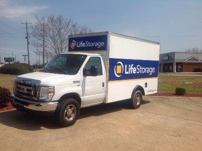 Truck rental available at Life Storage at 3951 Pepperell Pkwy in Opelika