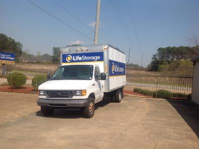 Truck rental available at Life Storage at 1231 Gatewood Dr. in Auburn