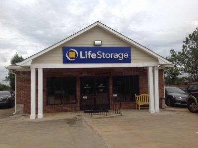Storage buildings at Life Storage at 4510 Armour Rd in Columbus