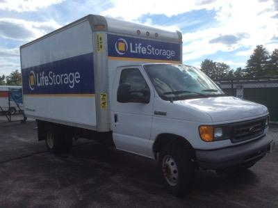 Truck rental available at Life Storage at 11 Integra Dr in Concord