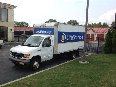 Truck rental available at Life Storage at 2802 Transit Rd in West Seneca
