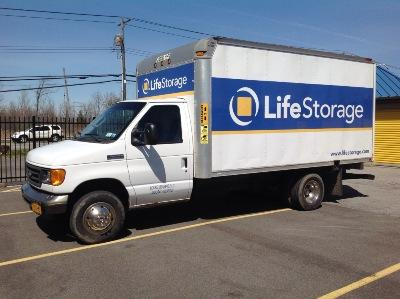 Truck rental available at Life Storage at 4445 Lake Ave. in Blasdell