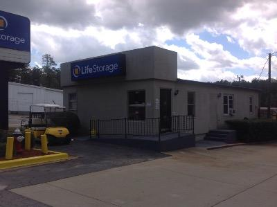 Storage buildings at Life Storage at 5311A Bush River Rd in Columbia