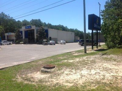 Storage buildings at Life Storage at 3610 Bienville Blvd in Ocean Springs