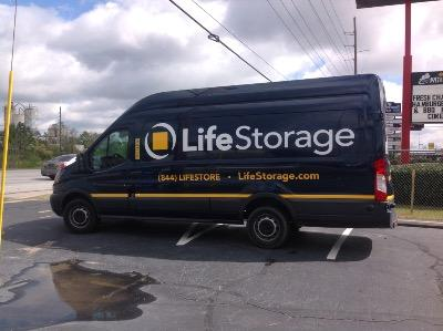 Truck rental available at Life Storage at 10020 Two Notch Road in Columbia