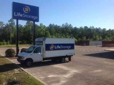 Truck rental available at Life Storage at 13130 Highway 49 in Gulfport