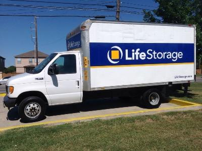 Truck rental available at Life Storage at 3615 N Foster Rd in San Antonio