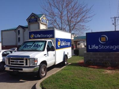 Truck rental available at Life Storage at 130 Centre St in Ridgeland