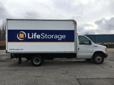 Truck rental available at Life Storage at 2950 Robertson Ave in Cincinnati