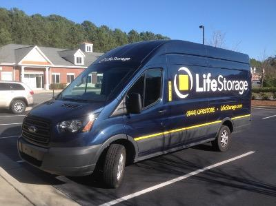 Truck rental available at Life Storage at 302 Davis Grove Cir in Cary