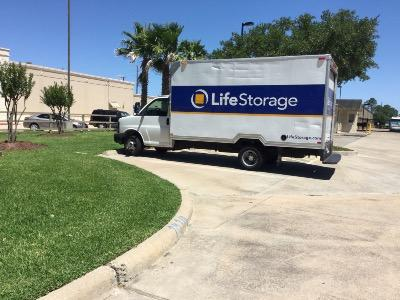Truck rental available at Life Storage at 7610 Highway 6 N in Houston