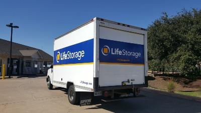 Truck rental available at Life Storage at 309 South Bell Boulevard in Cedar Park