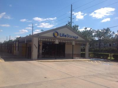 Life Storage Buildings at 2499 South Mason Rd in Katy