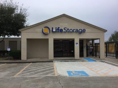 Storage buildings at Life Storage at 3321 Center Street in Deer Park