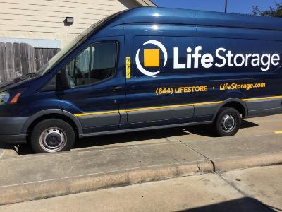 Truck rental available at Life Storage at 4155 Fairway Plaza Drive in Pasadena