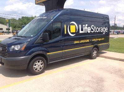 Truck rental available at Life Storage at 6911 Louetta Road in Spring