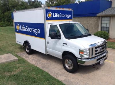 Truck rental available at Life Storage at 12835 Pond Springs Road in Austin