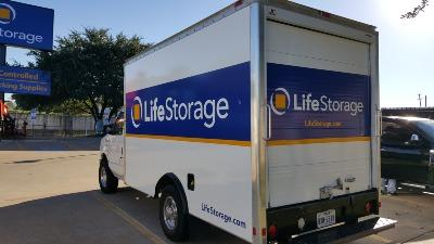 Truck rental available at Life Storage at 550 S. IH-35 in Round Rock