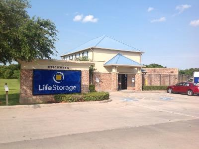 Storage buildings at Life Storage at 11220 S Highway 6 in Sugar Land
