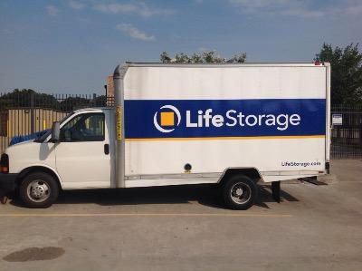 Truck rental available at Life Storage at 11220 S Highway 6 in Sugar Land