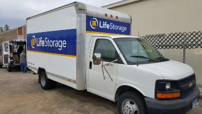 Truck rental available at Life Storage at 12711 Westheimer Road in Houston