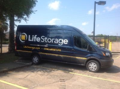 Truck rental available at Life Storage at 2010 Wilcrest Drive in Houston