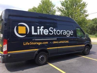 Truck rental available at Life Storage at 1400 S Skokie Hwy in Lake Forest