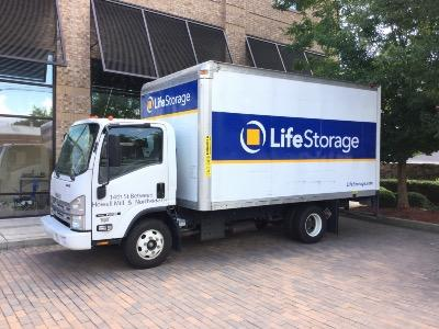 Truck rental available at Life Storage at 680 14th Street NW in Atlanta