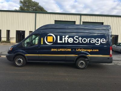 Truck rental available at Life Storage at 1890 Briarwood Rd NE in Atlanta