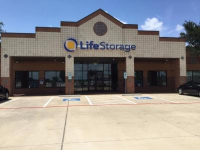 Storage buildings at Life Storage at 3997 FM 1431 in Round Rock