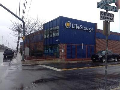 Storage buildings at Life Storage at 101 East Hoffman Avenue in Lindenhurst