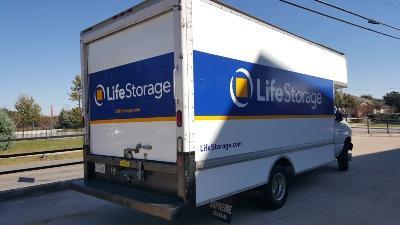 Truck rental available at Life Storage at 2715 Sam Bass Road in Round Rock