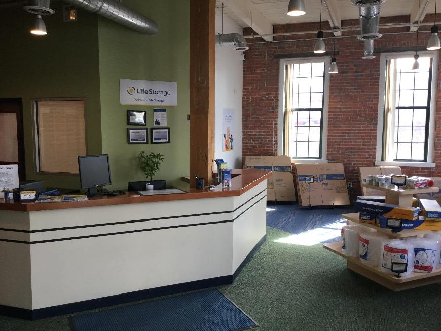 Nice ... Life Storage Office At 51 McGrath Hwy. In Somerville ...