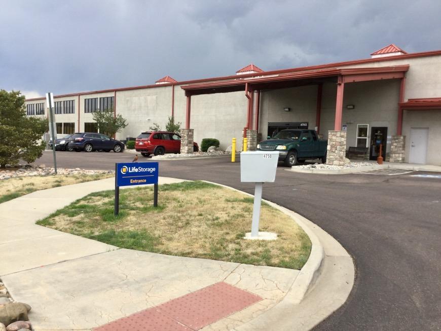 Storage Units at 4750 Scarlet Drive - Colorado Springs - Life Storage #436 & Storage Units at 4750 Scarlet Drive - Colorado Springs - Life ...