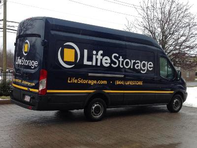 Truck rental available at Life Storage at 15 Kenosia Ave in Danbury