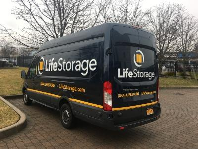 Truck rental available at Life Storage at 65 W John St in Hicksville