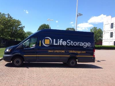 Truck rental available at Life Storage at 1 Executive Blvd in Farmingdale