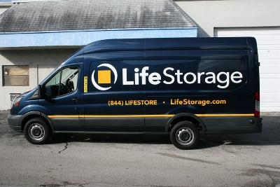 Truck rental available at Life Storage at 7411 S Military Trl in Lake Worth