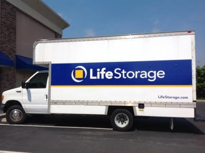 Truck rental available at Life Storage at 1341 Route 37 West in Toms River