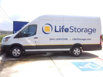 Truck rental available at Life Storage at 24264 Wilderness Oak in San Antonio