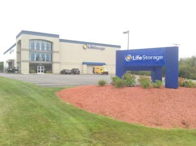 Storage buildings at Life Storage at 50 Gorham Rd in South Portland