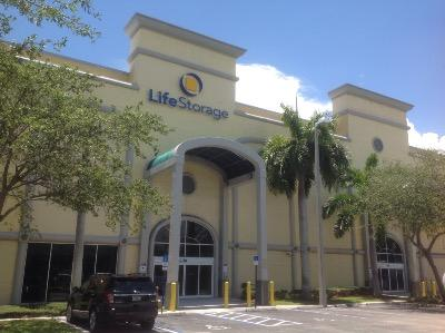 Storage buildings at Life Storage at 747 NE 3rd Avenue in Fort Lauderdale