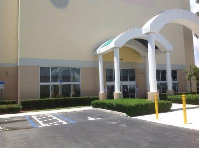 Storage buildings at Life Storage at 1401 Mercer Avenue in West Palm Beach