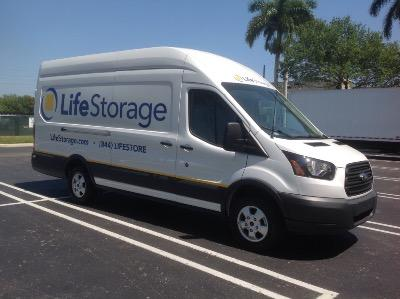 Truck rental available at Life Storage at 1401 Mercer Avenue in West Palm Beach