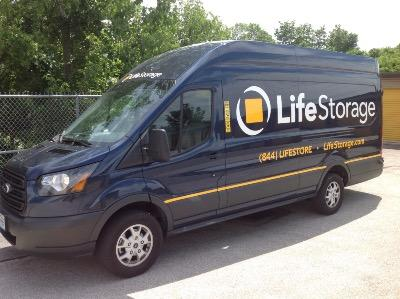Truck rental available at Life Storage at 3939 Mexico Road in Saint Peters