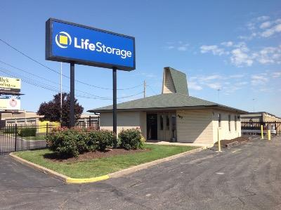 Storage buildings at Life Storage at 485 North Highway Drive in Fenton